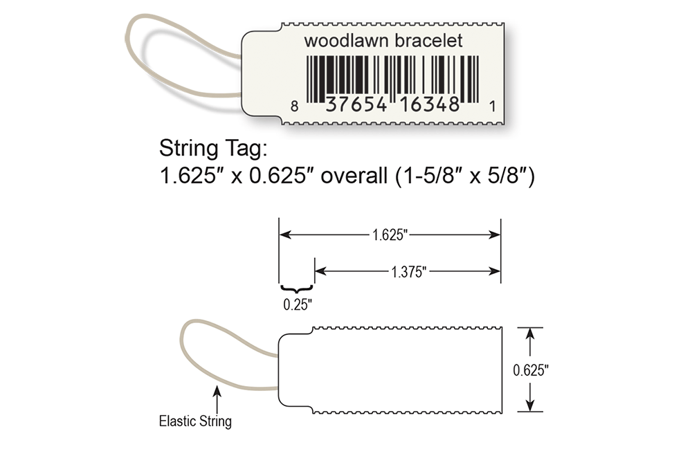 Elastic String Tags