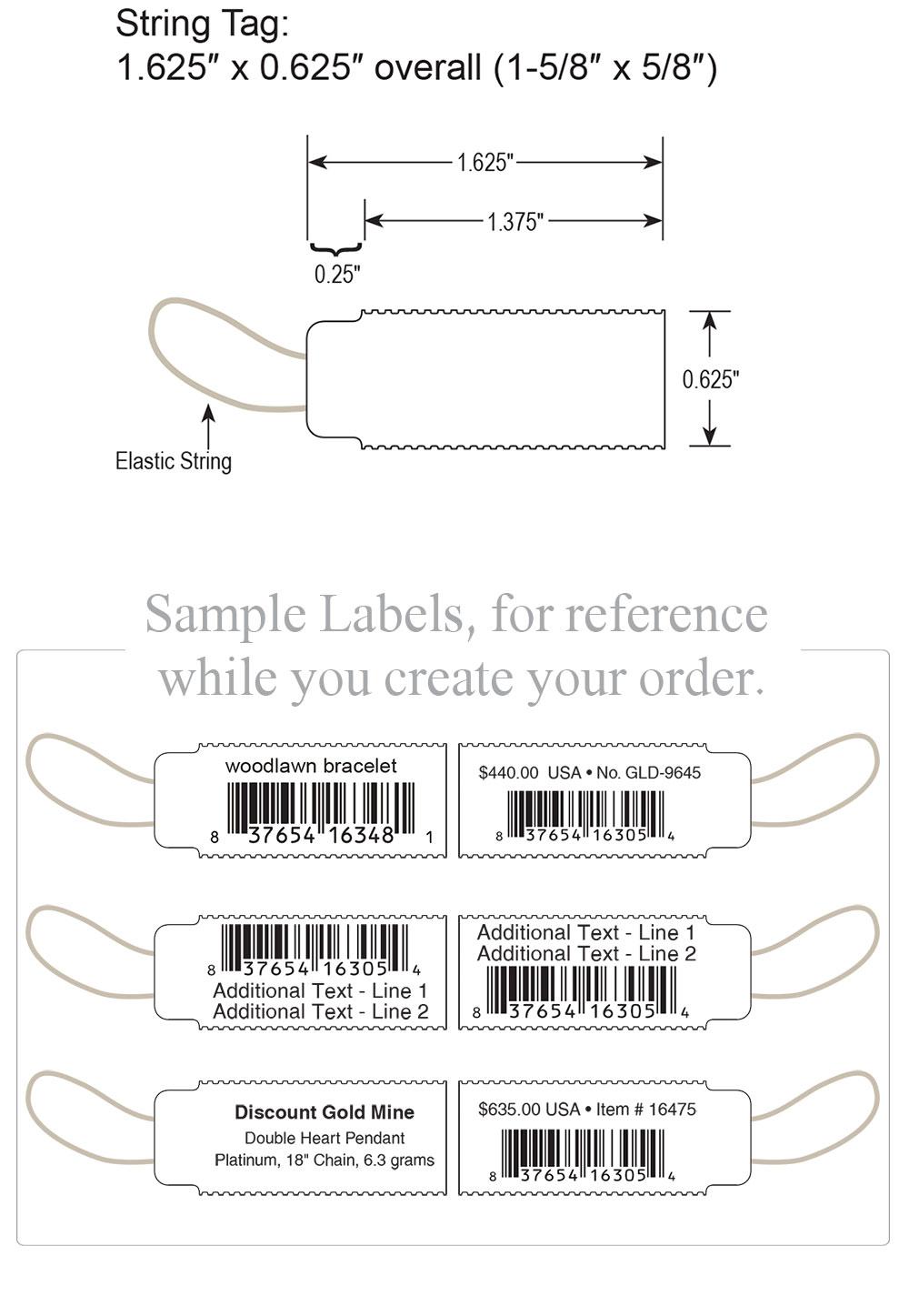 Elastic String Tags